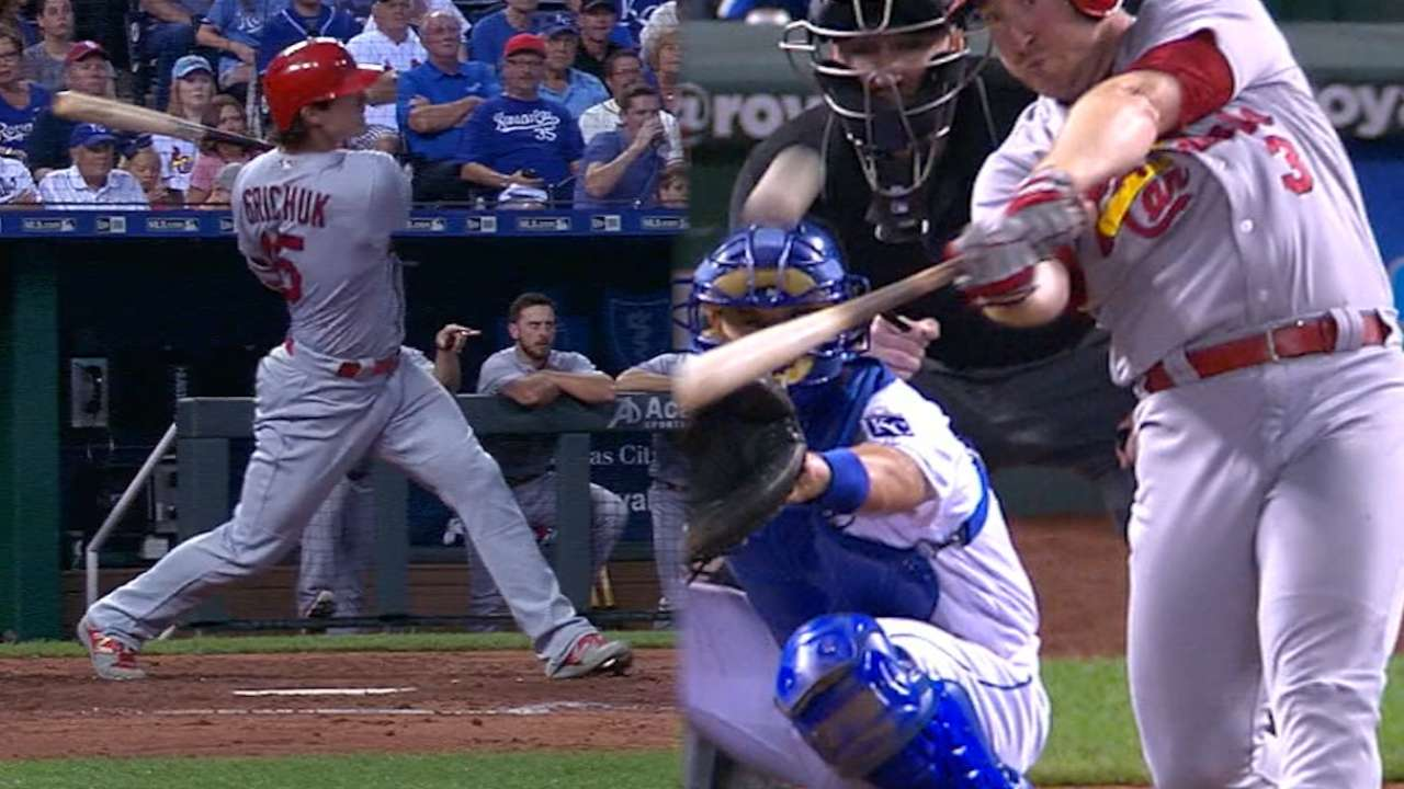 Redbirds use another big inning to rout KC