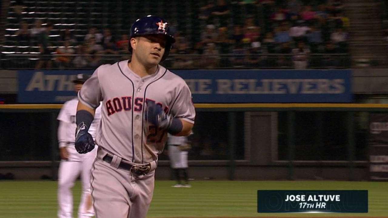 Keuchel struggles in rare road loss for Astros