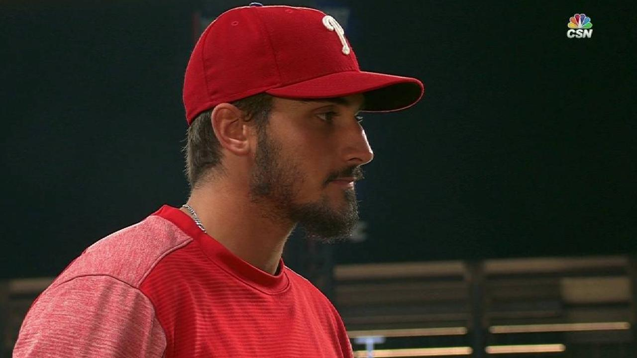 Eflin on his pitching in win