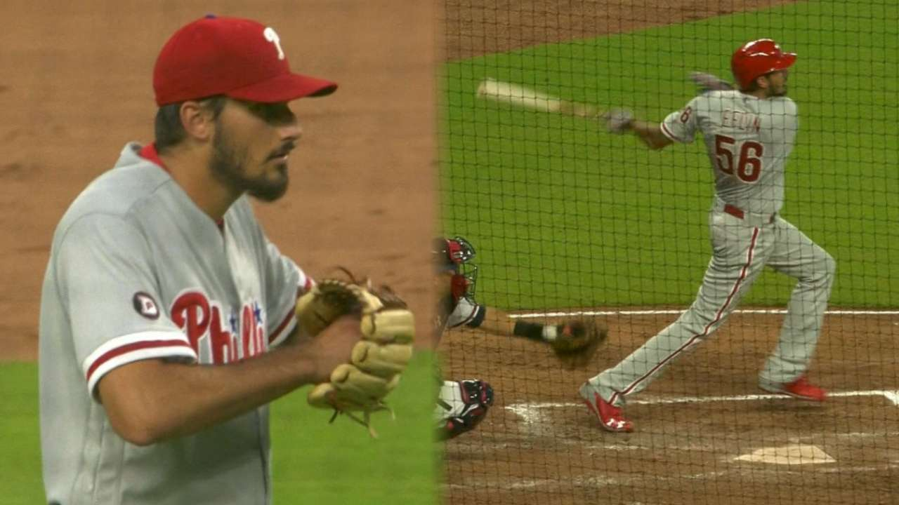 Eflin's first win of the year