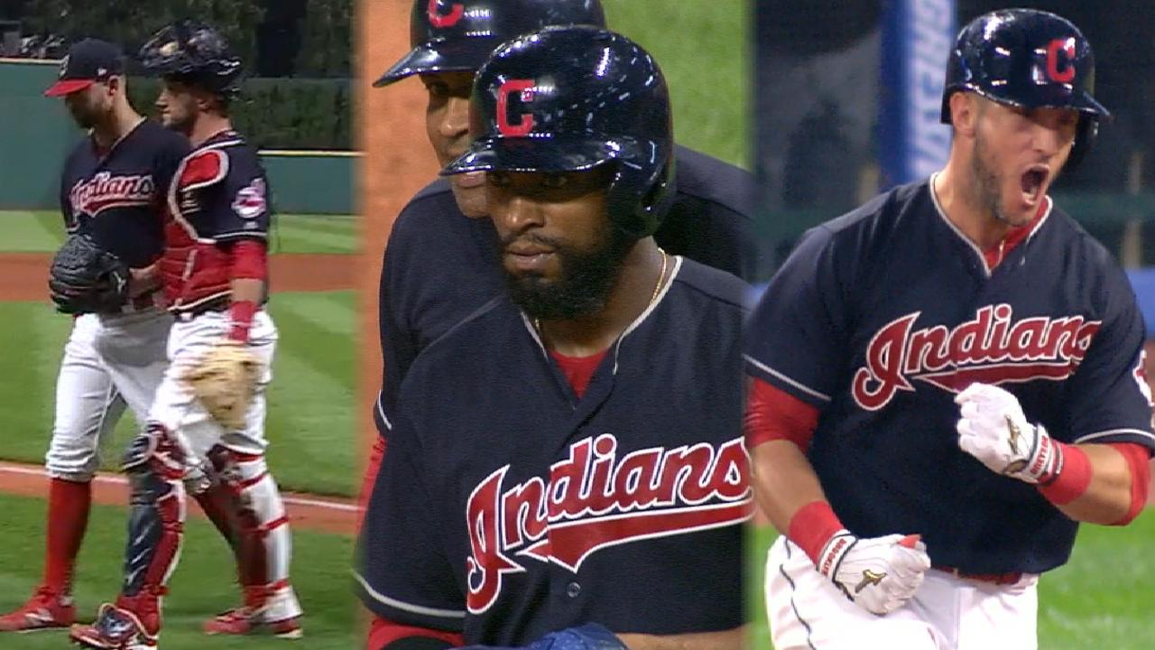 Going, going, Yan! Tribe walks off on Gomes HR