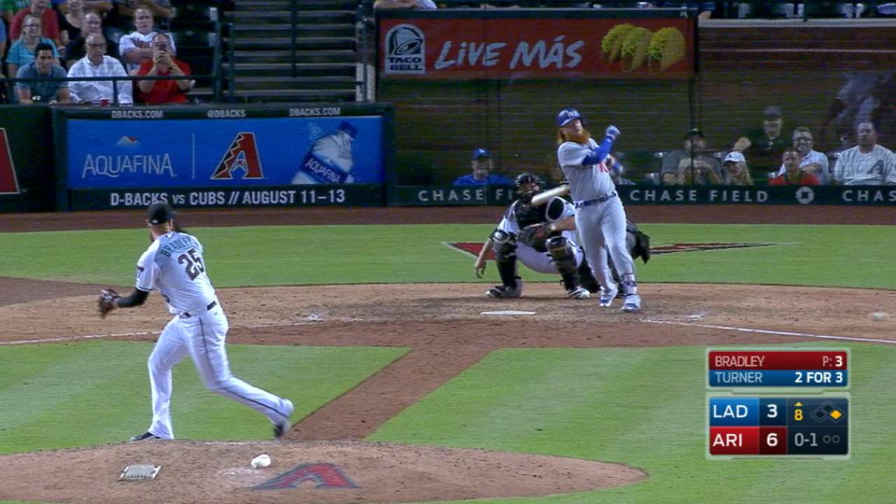 Bradley induces a double play