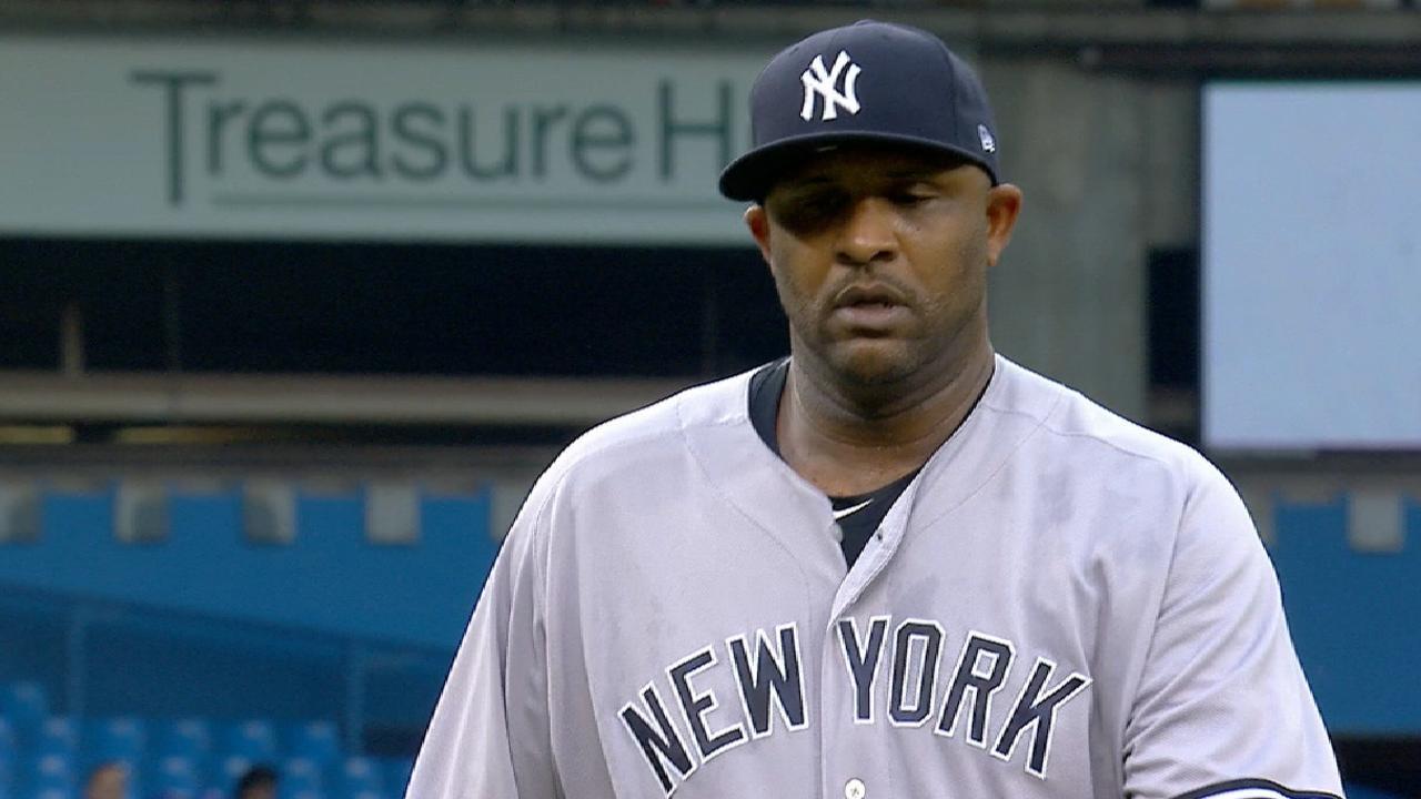CC returns to NY to have sore knee examined