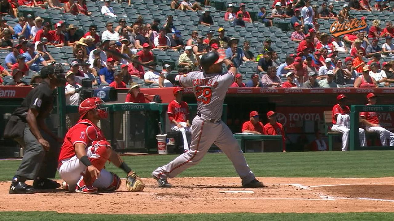 Castillo HRs, but Gausman up and down in loss