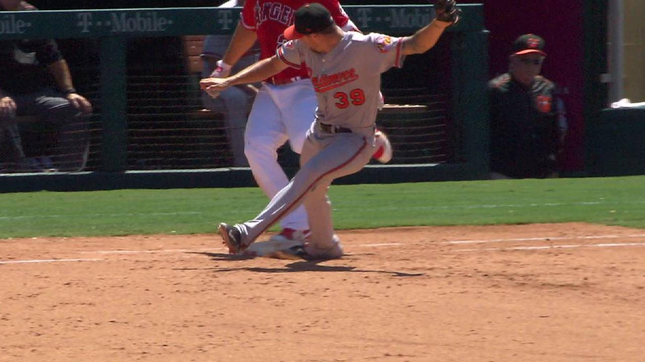 Trout safe after call stands