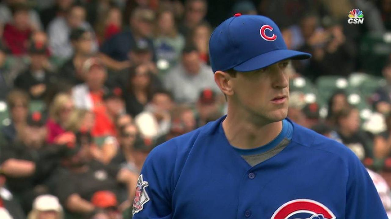 Hendricks strikes out Span