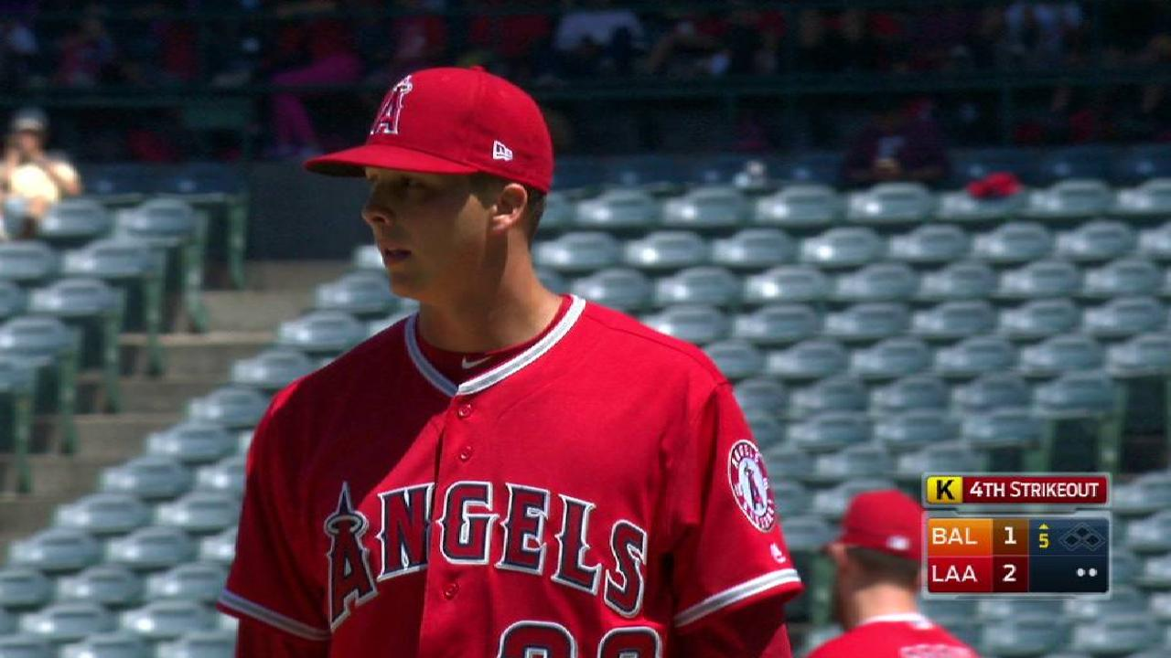 Stellar Scribner could solidify Angels' rotation