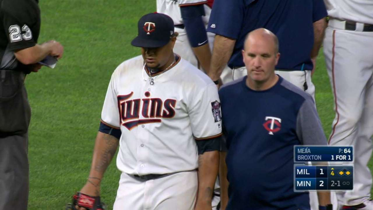 Mejia to rejoin Twins, could start Thursday