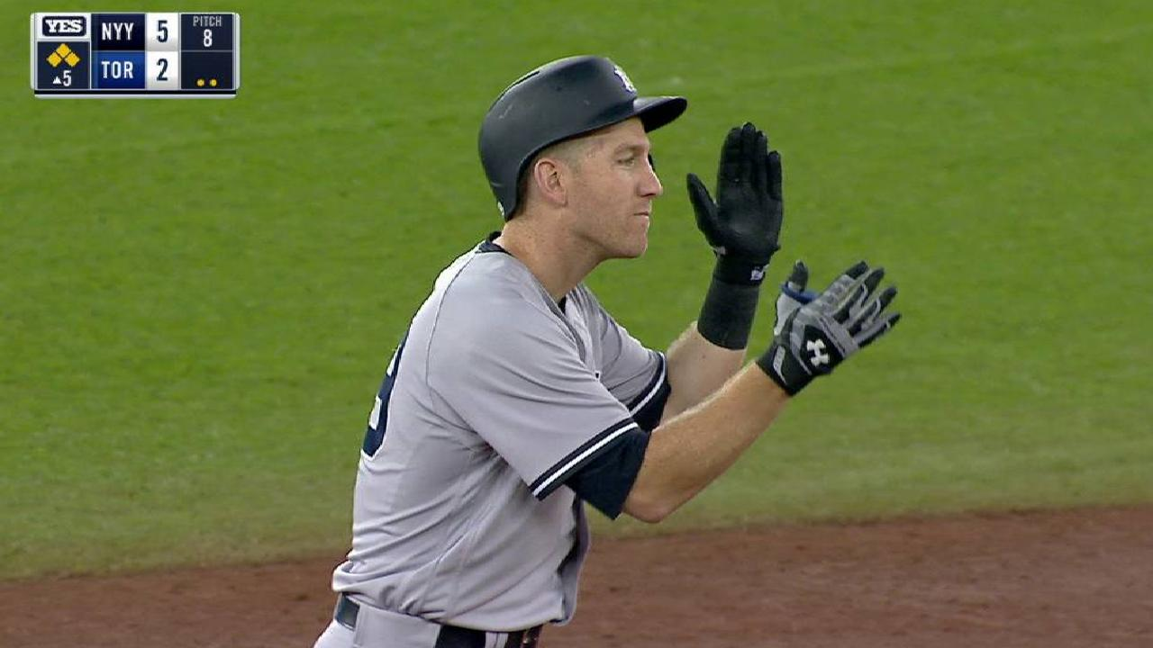Todd Frazier's two-run double
