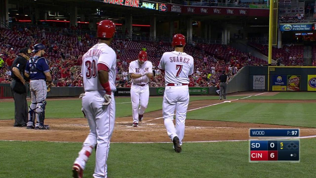 Turner's first MLB home run