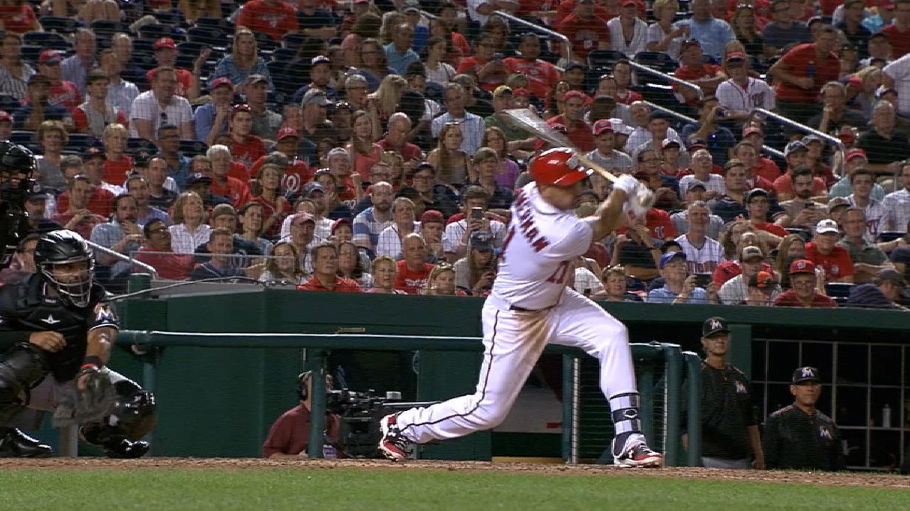 Zimmerman's second homer