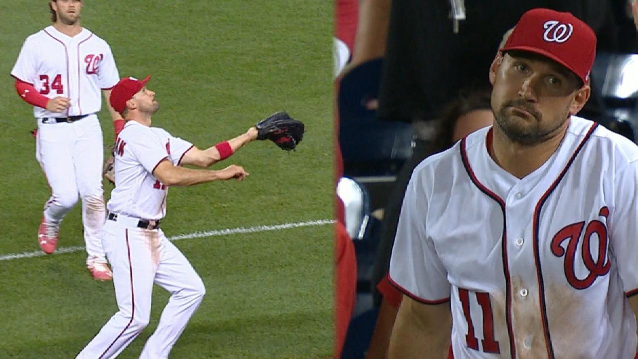 Zimmerman's fantastic catch