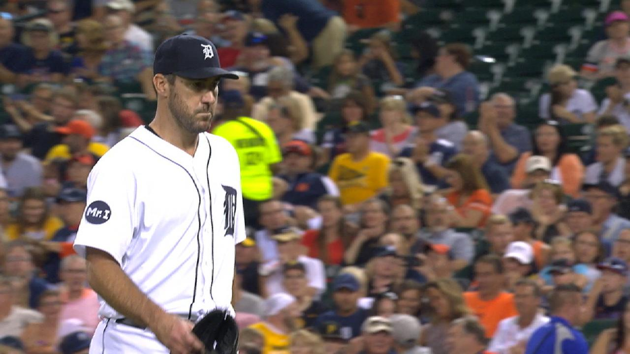 Verlander peaking with latest gem vs. Pirates
