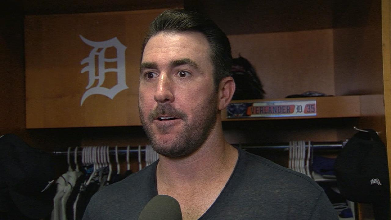Verlander on Tigers' 10-0 win