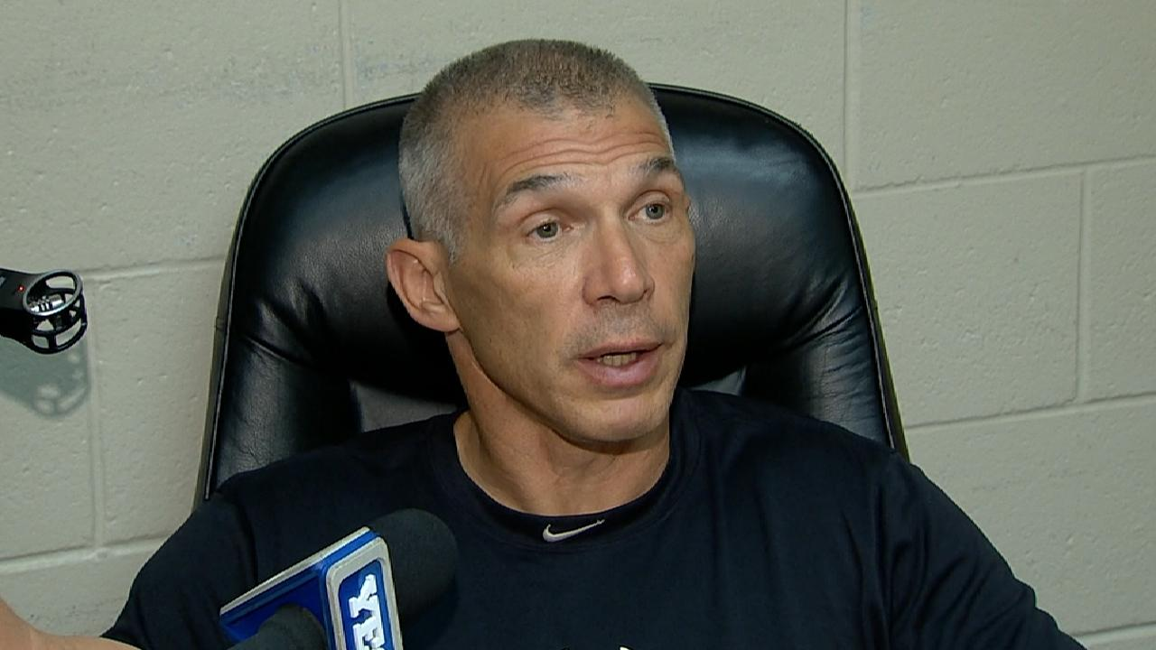 Girardi on win over Blue Jays