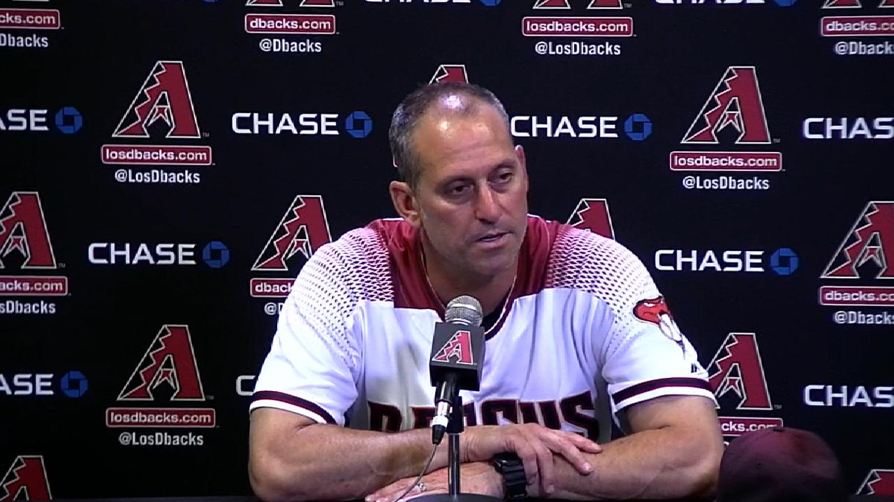 Lovullo on loss to Dodgers