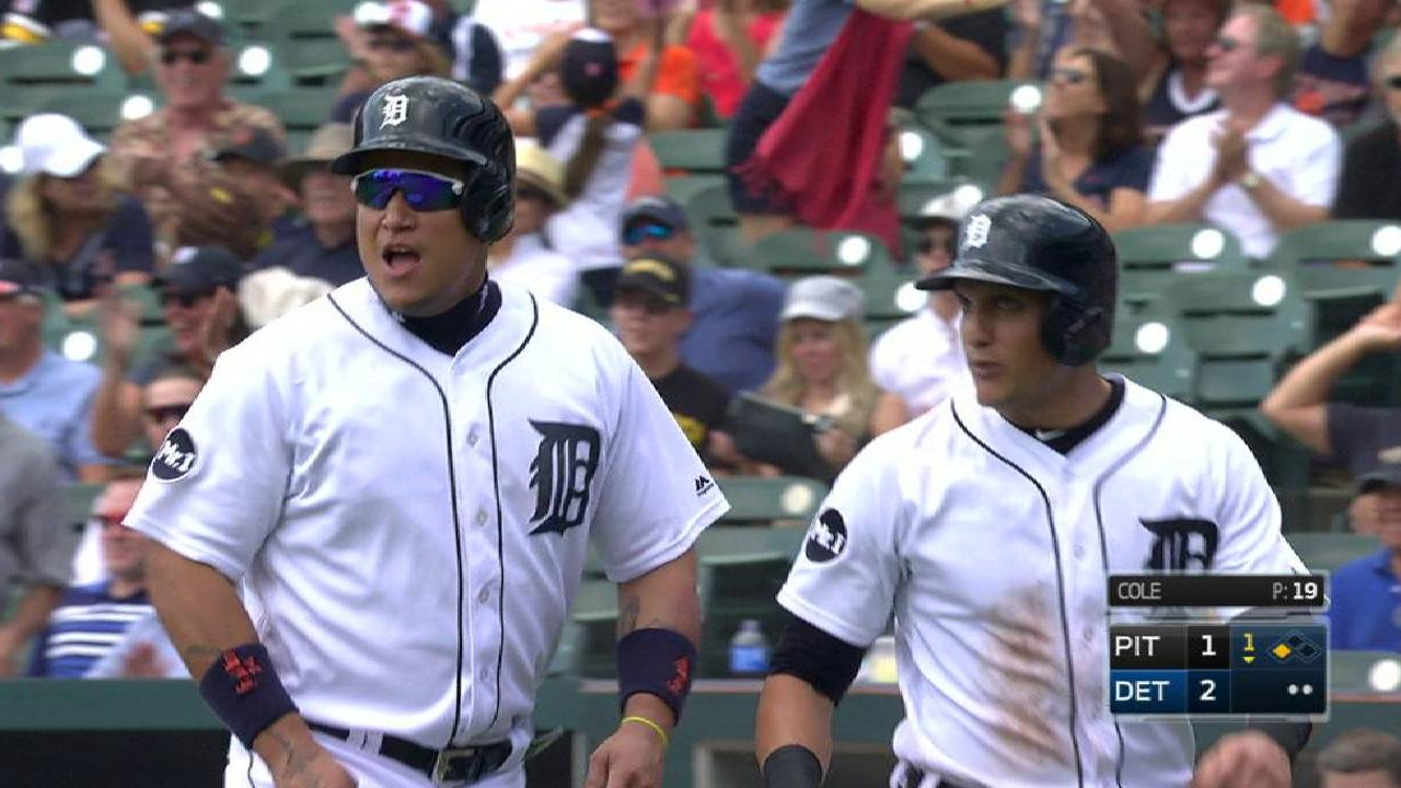 Triple threat: Castellanos has shot at 3B title