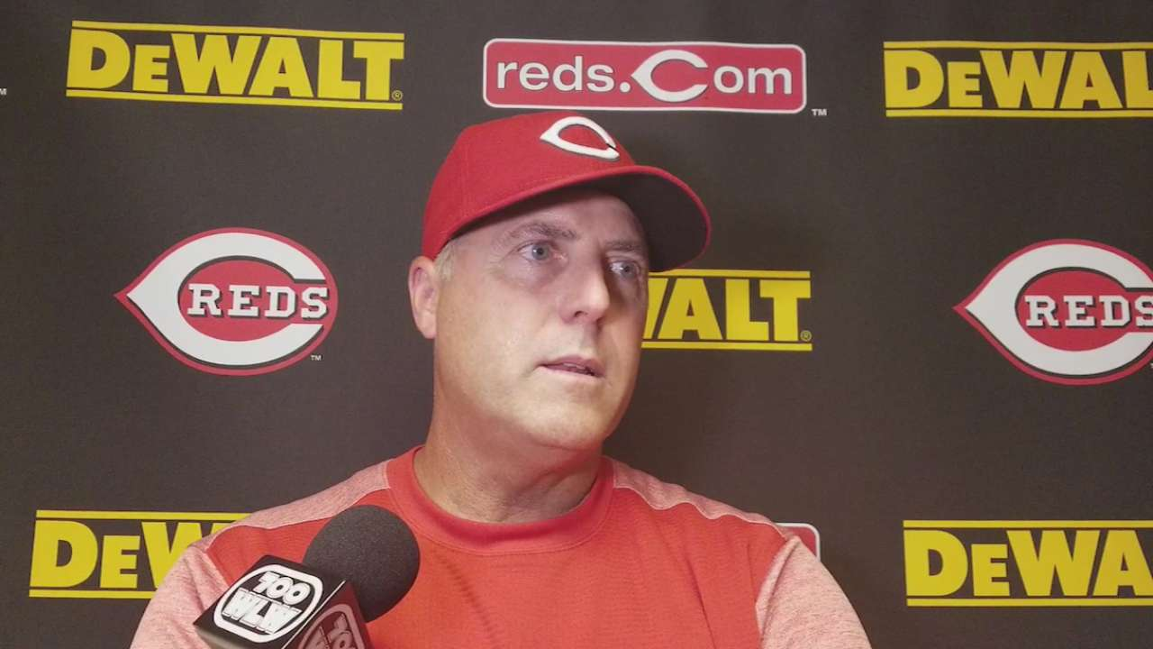 Price on Reds' offense in win