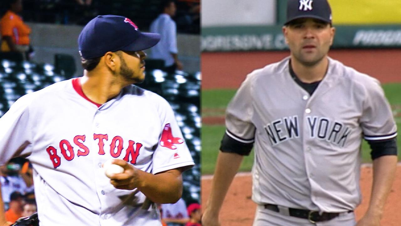 Red Sox, Yankees renew rivalry on MLB.TV