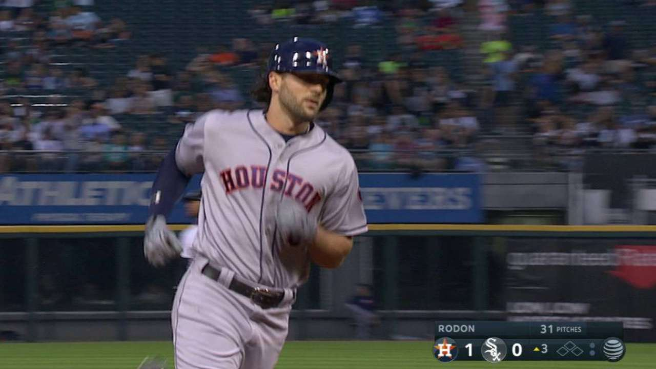 Astros get swept aside by White Sox