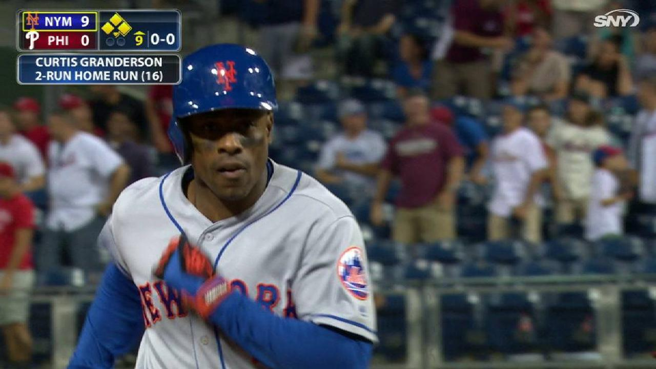 Grandy's two-run home run