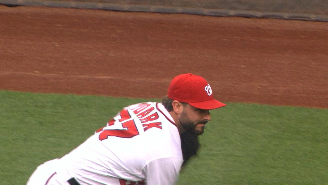 Roark's strong six frames