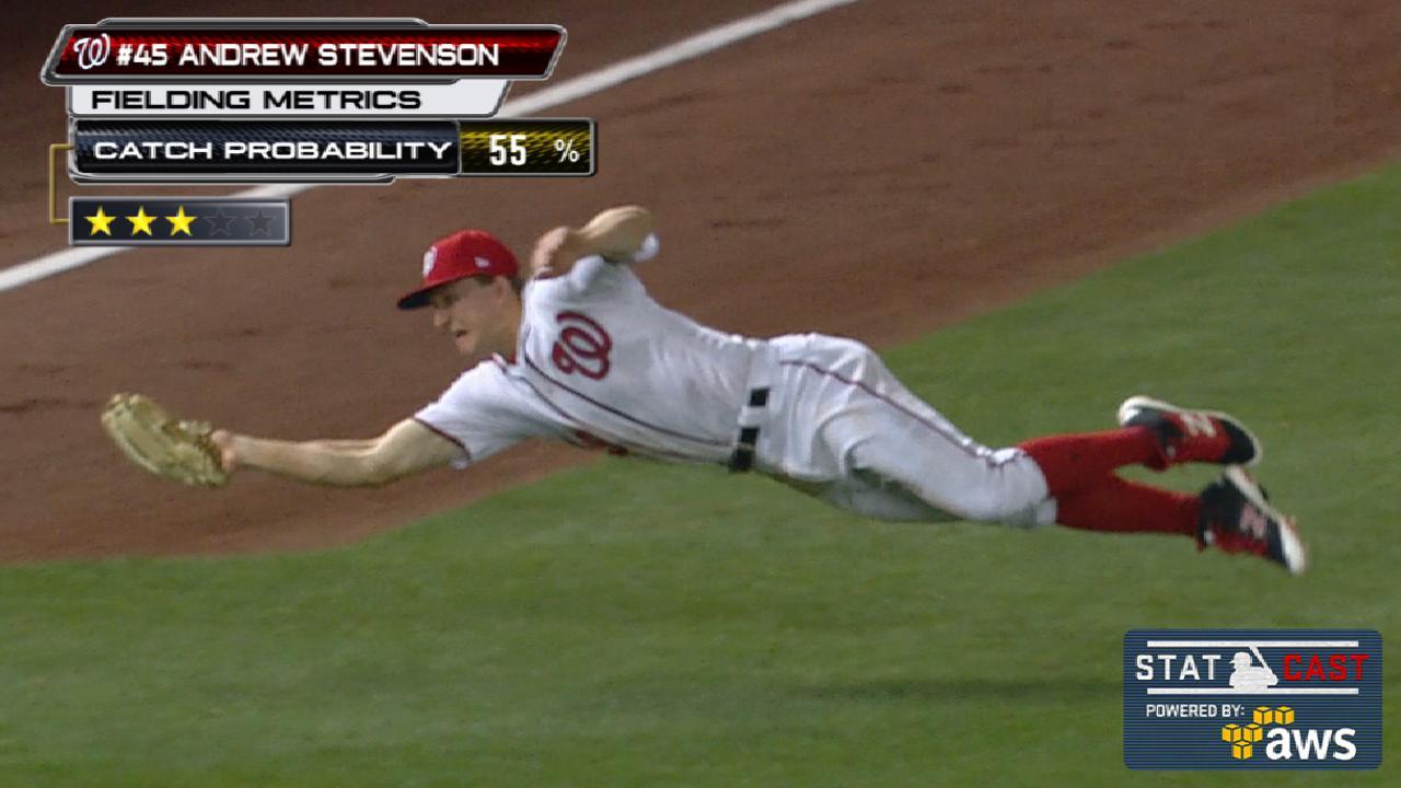 Statcast: Stevenson seals win