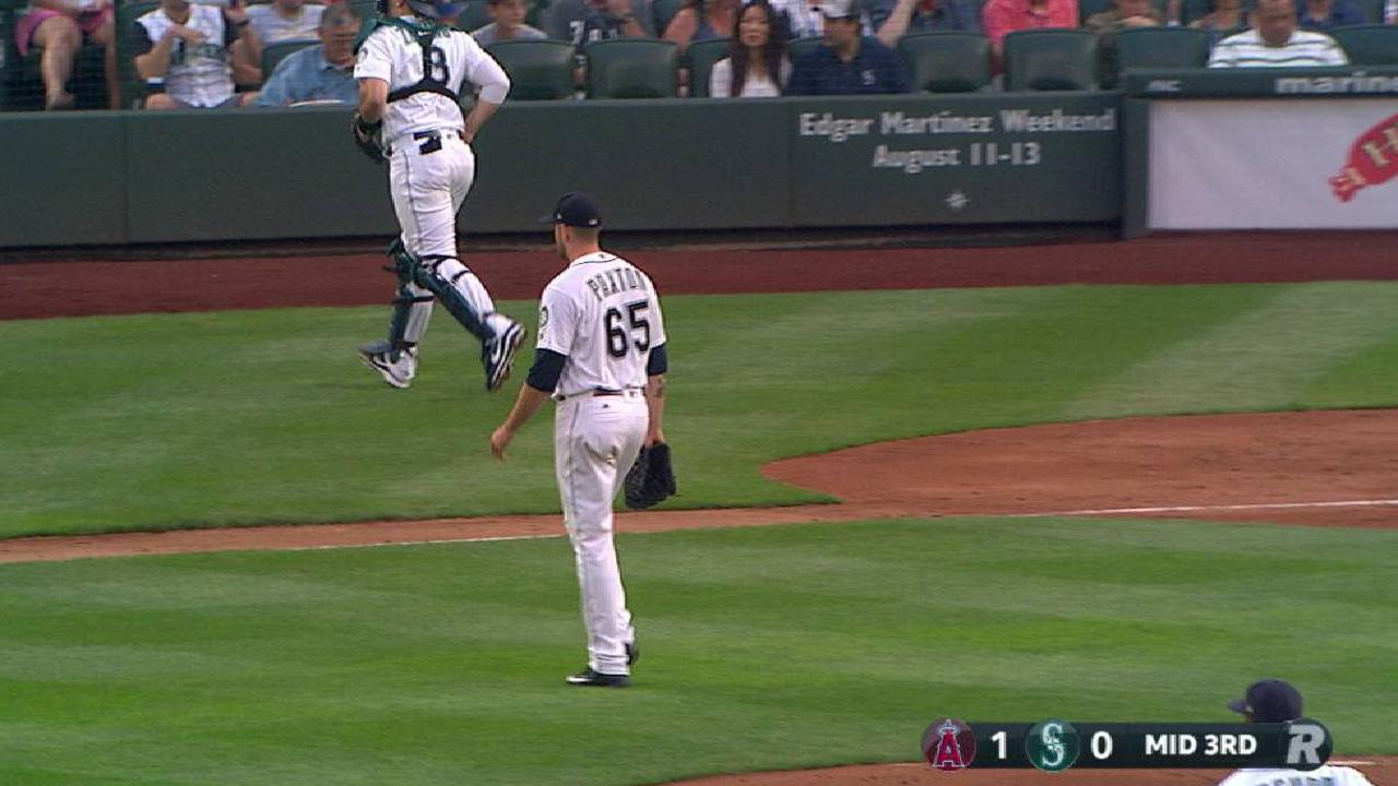 Paxton strikes out the side