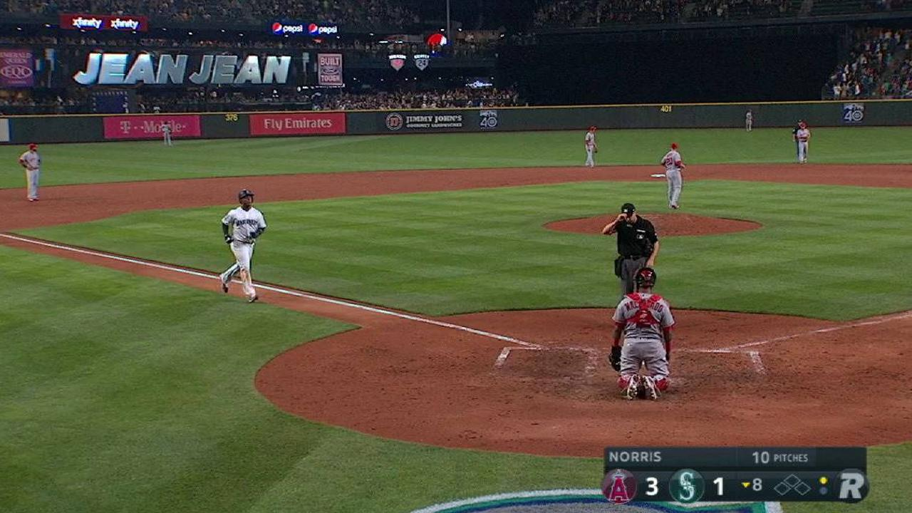Segura's solo home run