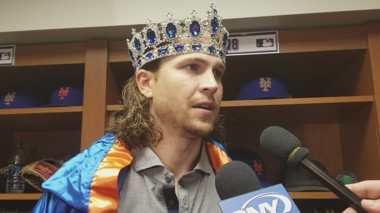 deGrom on leaving start early