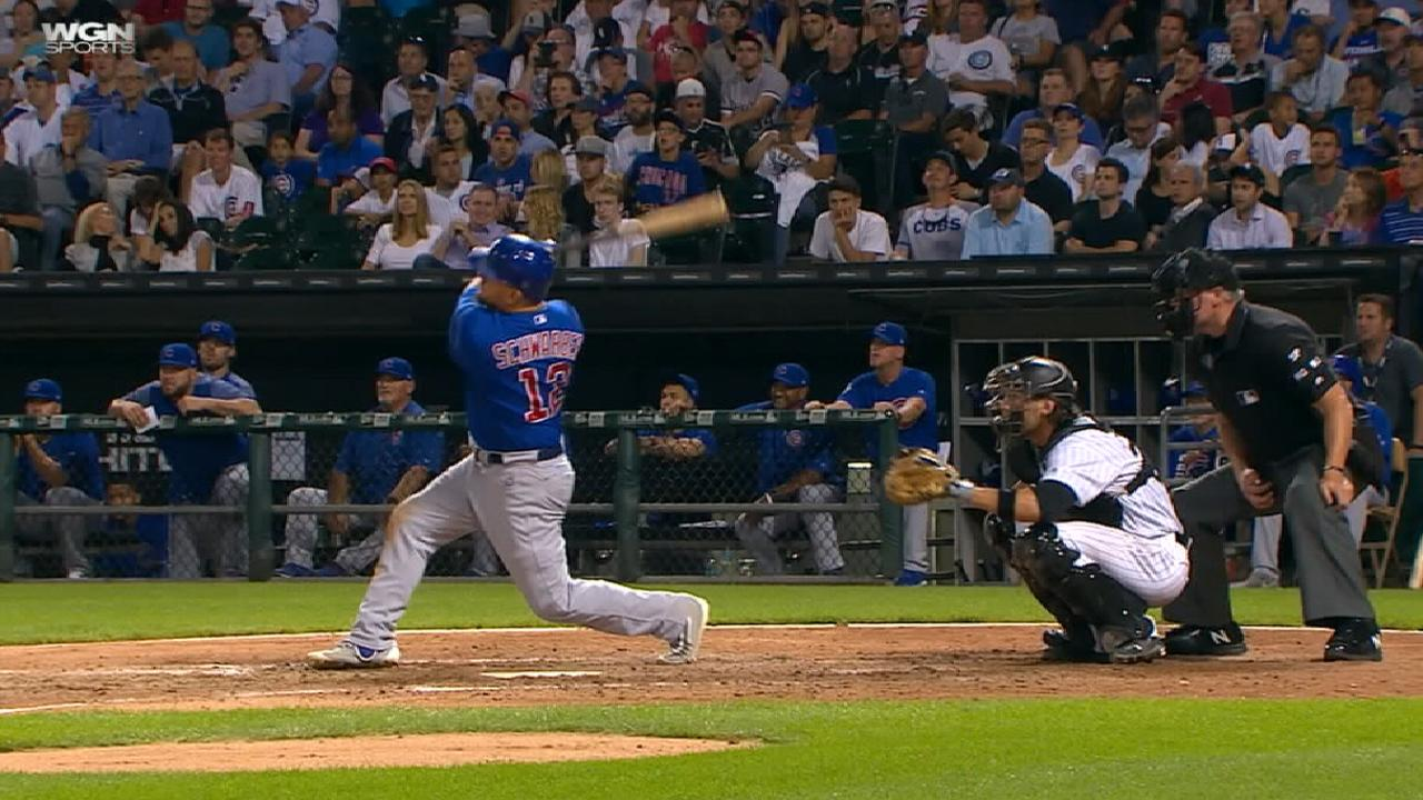 Schwarber's importance to Cubs