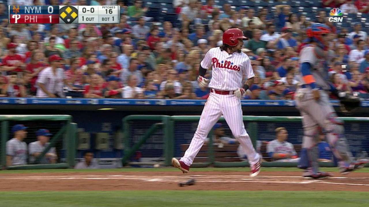 Phils fight back, but fall to Mets on late homer