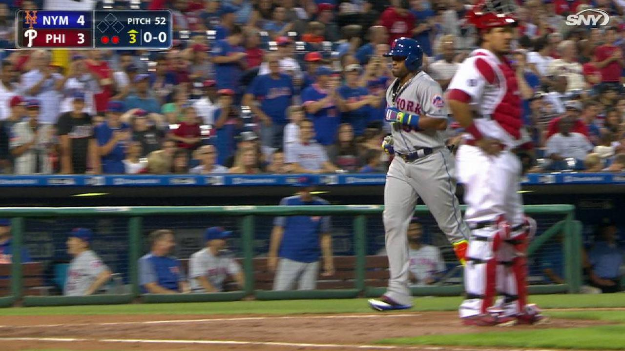Cespedes' three-run home run