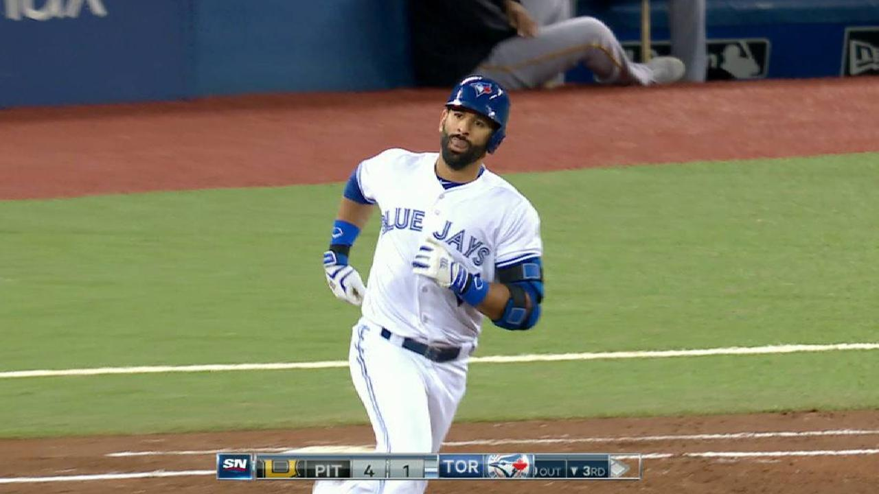 Bautista's solo home run