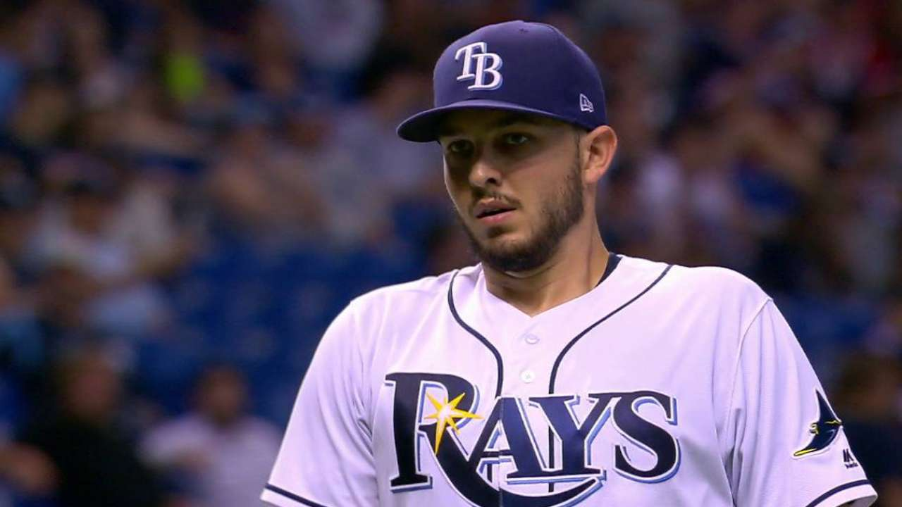 Rays stymied by Carrasco, Indians in shutout