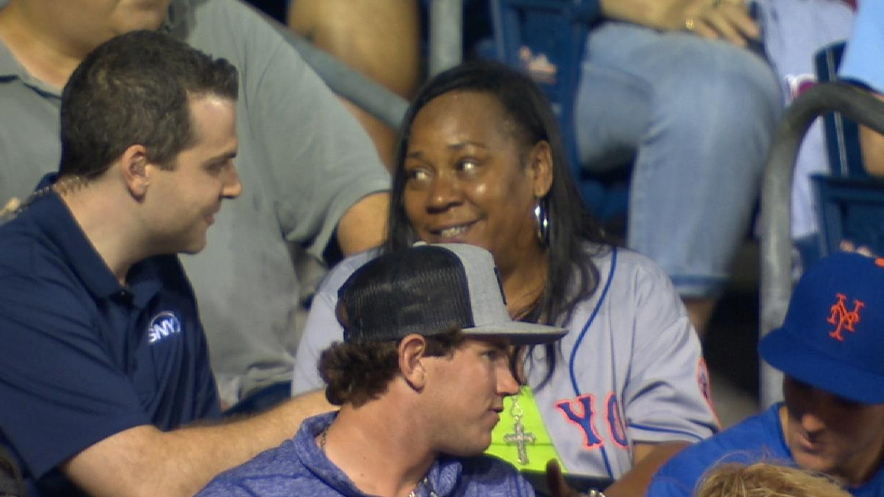 Smith's mother on son's debut