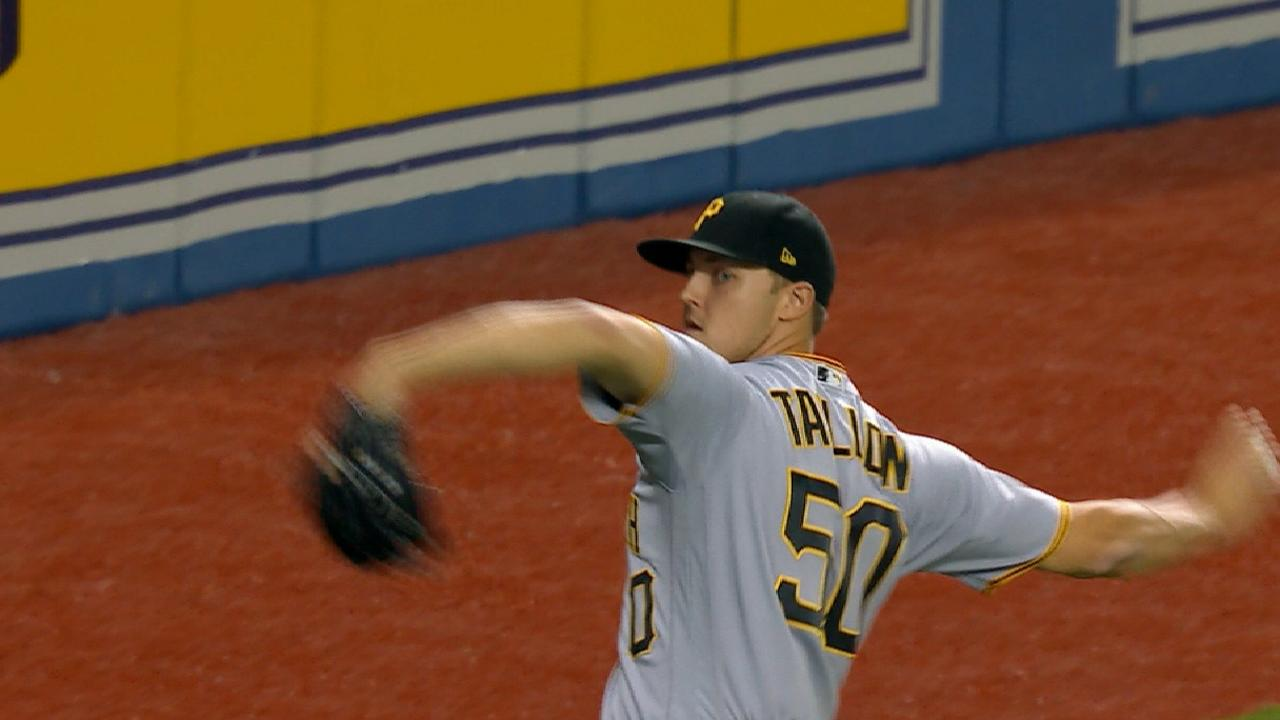 Bucs even record behind Taillon, big 3rd