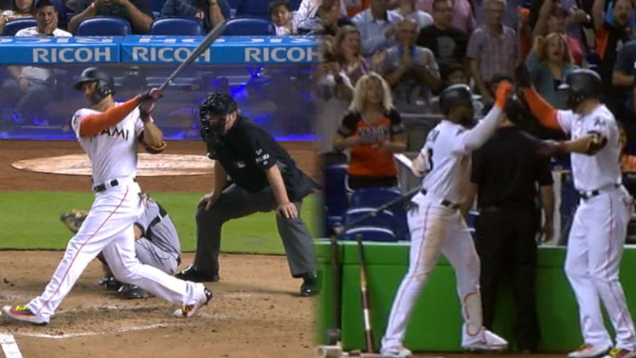Stanton reaches 40 home runs