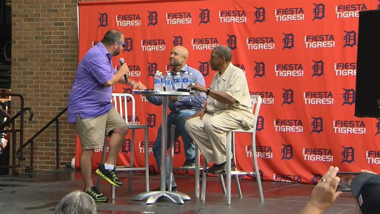 Reflective Polanco in town for Tigers fiesta