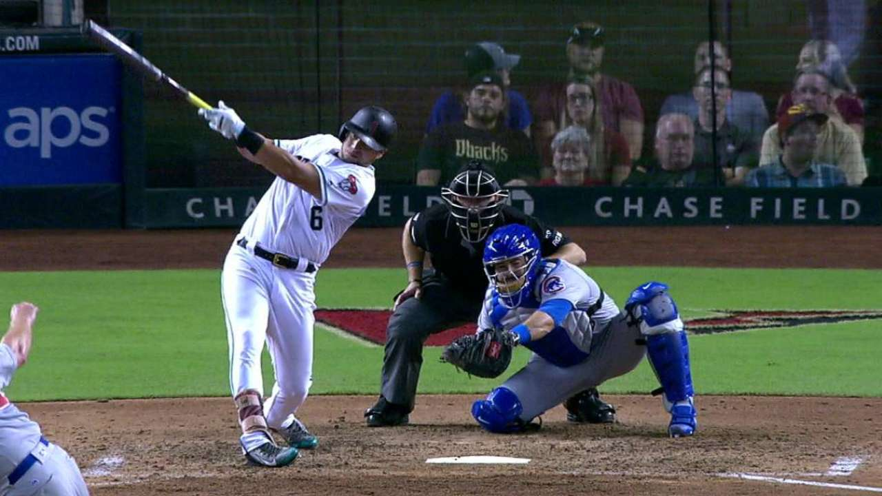 Peralta, Goldy homers not enough to top Cubs