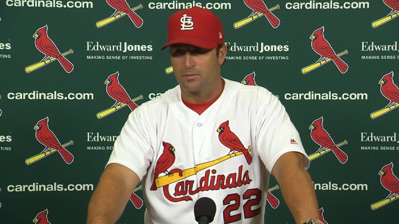 Matheny on Wainwright's outing