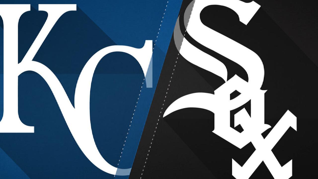 8/11/17: White Sox pegaron más duro que los Reales