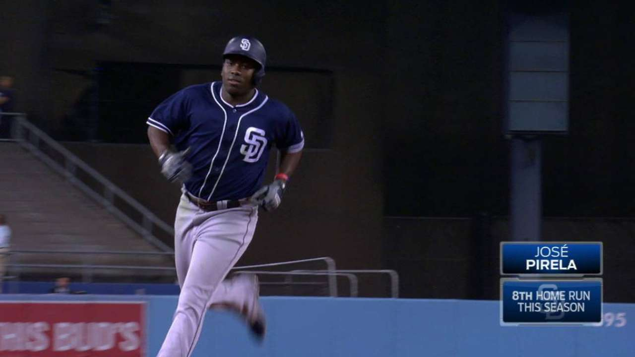 Padres Hand-cuff Dodgers after HRs set stage