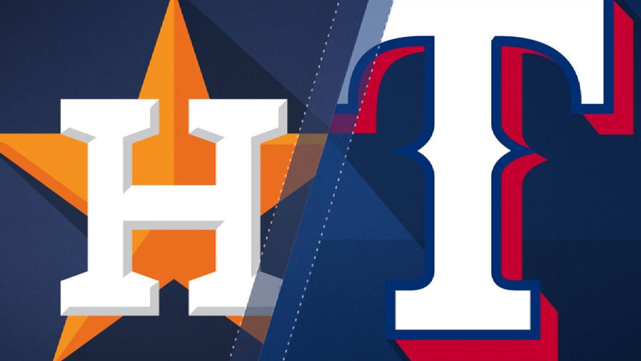 8/11/17: Rangers extendieron mala racha de los Astros