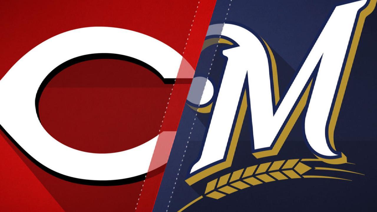 8/11/17: Rojos aguantaron hasta el final y derrotaron a Milwaukee