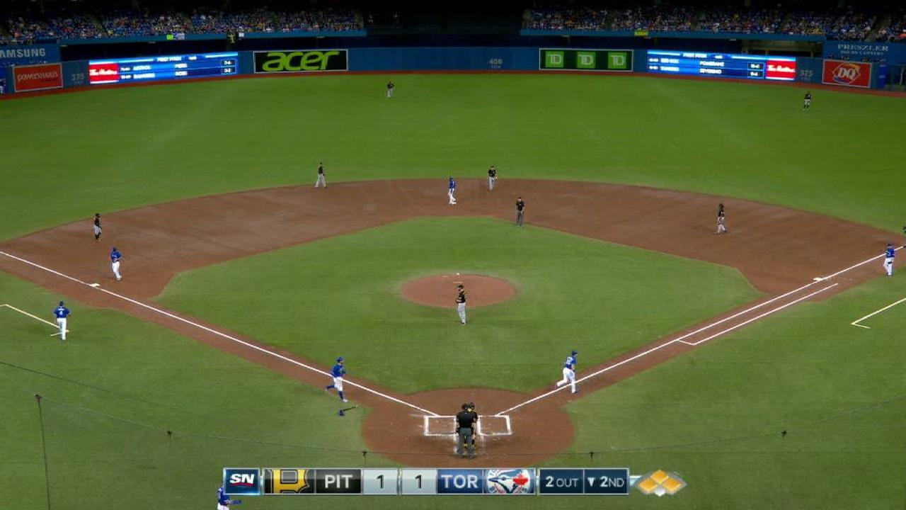 Donaldson's bases-loaded walk