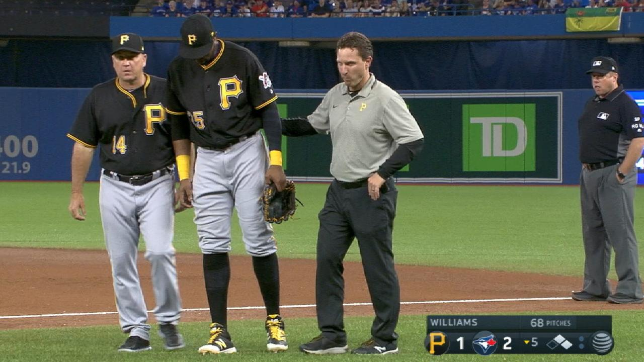 Polanco day to day with left leg discomfort