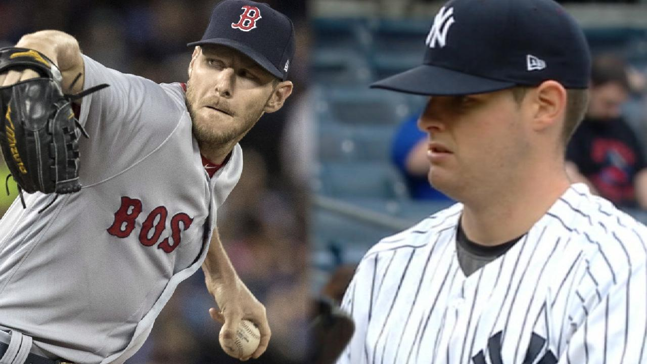 Red Sox turn to Sale for rubber game vs. Yanks