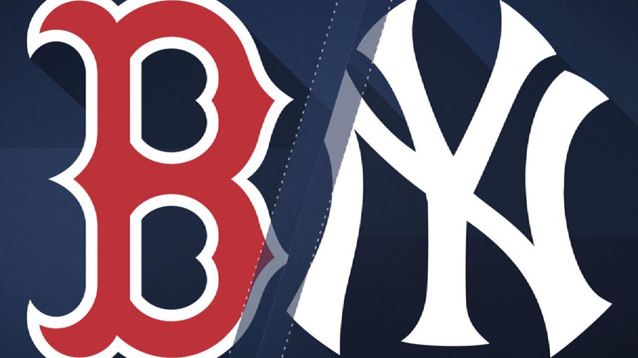 8/12/17: Benintendi se roba al show y pega dos HR ante Yankees