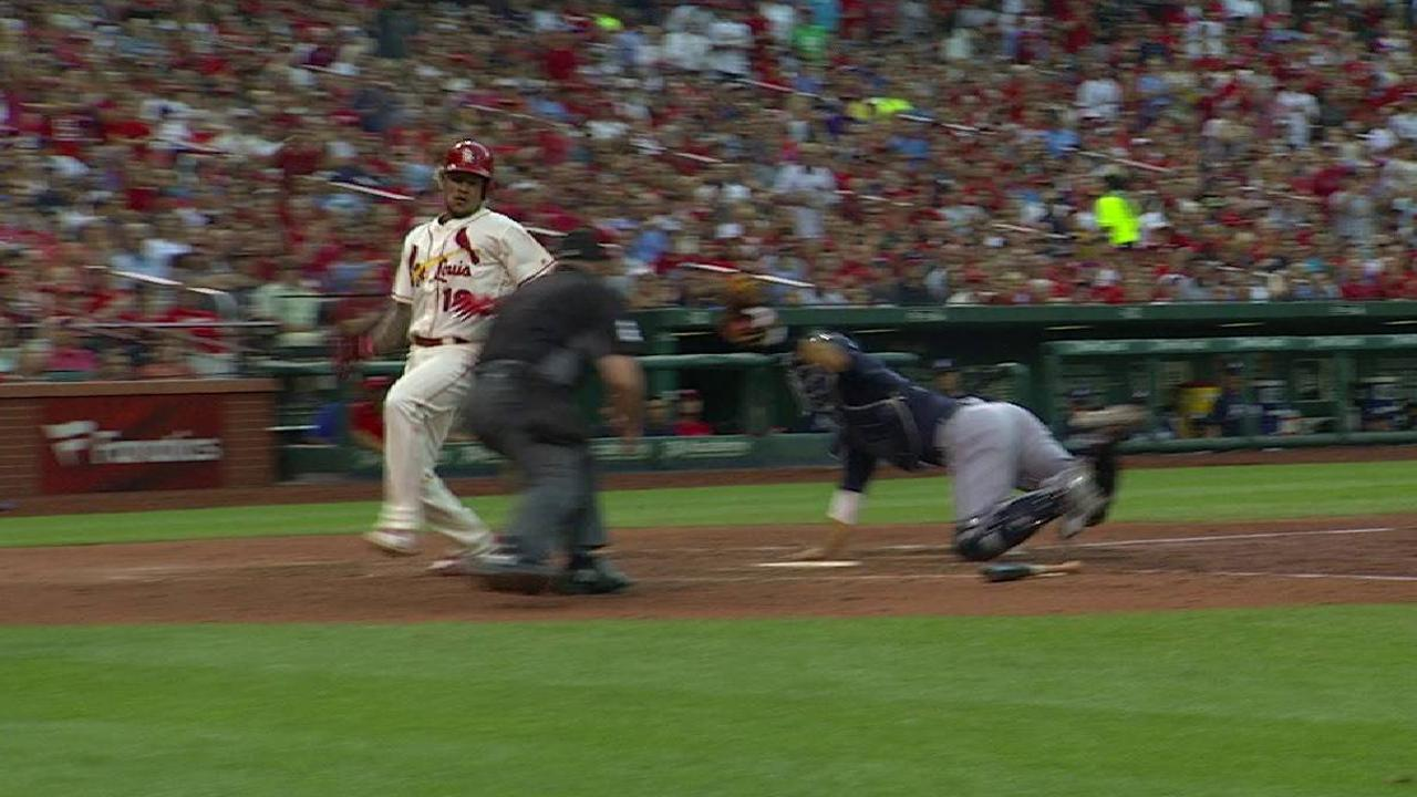 Pham's RBI single to center